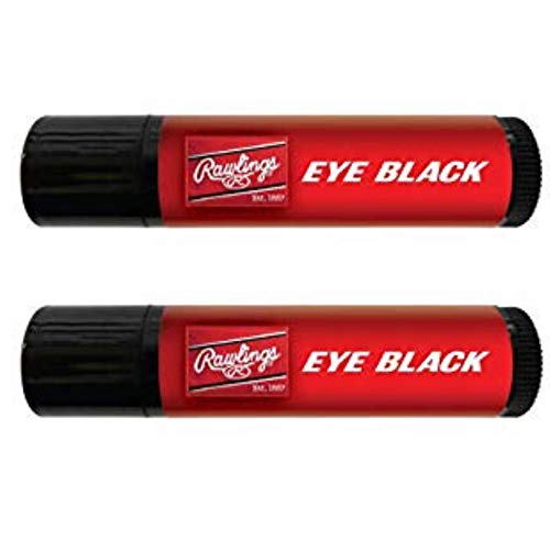Rawlings Eye Black Stick Grease - (2-Pack) - Great for Baseball, Softball, Football, Lacrosse, Sports]()