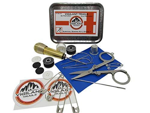 Vigilant Trails Pocket/Survival Sewing Kit