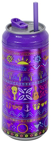 Cool Gear 16 oz Margaritaville Can, Purple