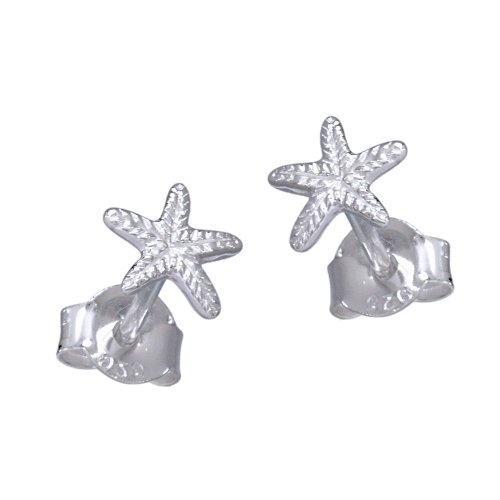 VINANI Ohrstecker Seestern Silber 925 Ohrringe ORO