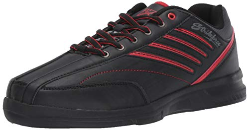 KR Strikeforce M-038-115 Crossfire Lite Bowling Shoes, Black/Red, Size 11.5