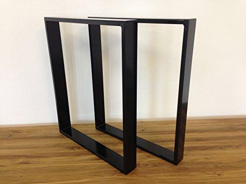 Tischgestell Stahl TR80s 700mm breit Tischuntergestell Tischkufe Kufengestell