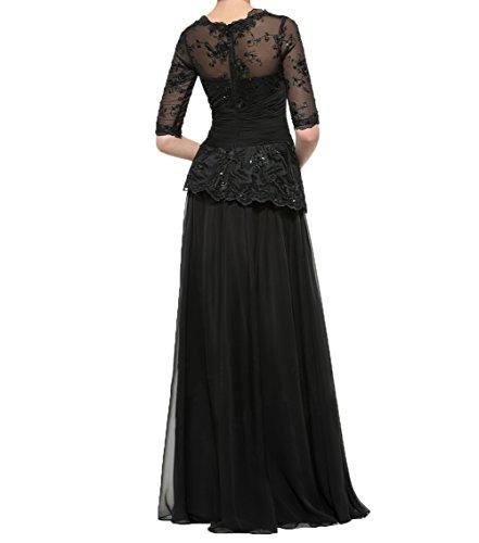 Kleider Spitze Mit Festlichkleider Partykleider Brautmutterkleider Langarm Abendkleider Traube Damen Charmant Damen 0wH08