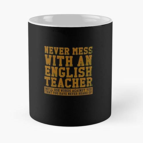 English Punctuation Literature Grammar - 11 Oz Coffee Mugs Ceramic The Best Gift For Holidays, Item Use Daily.