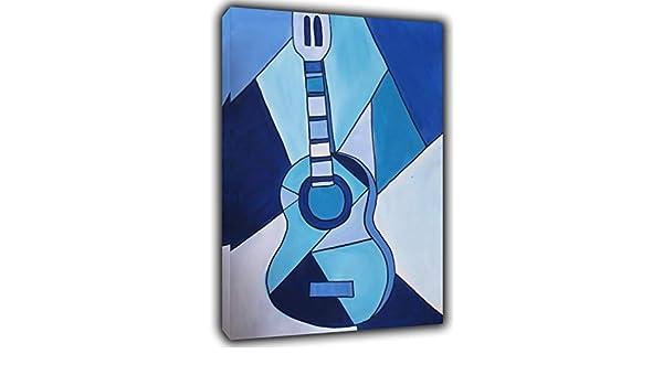 Pablo Picasso - Pintura para guitarra, diseño de cuadros, color ...