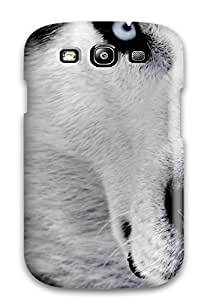 Defender Case With Nice Appearance (white Wolf Wallpaper) For Galaxy S3