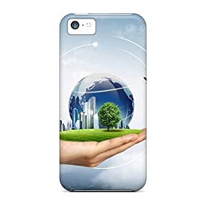 LastMemory Fashion Protective You Are The Earth Case Cover For Iphone 5c