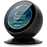 Benuo Echo Spot Adjustable Stand 360 Degree Rotation Aluminum Alloy Base Silicone Pad Built-in Strong Magnetic Attachment Echo Spot Accessories for Bedroom Kitchen Office