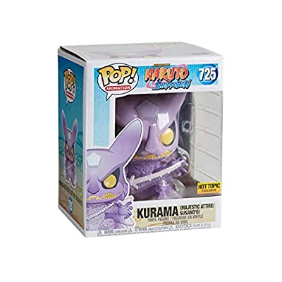 Funko POP! Animation: Shonen Jump Naruto Shippuden #725 - Kurama Majestic Attire Susano'o 6 Inch Exclusive Bundled with Free PET Compatible .5mm Extra Rigged Protector: Toys & Games