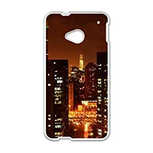 Happy City Phone Case for HTC One M7 case