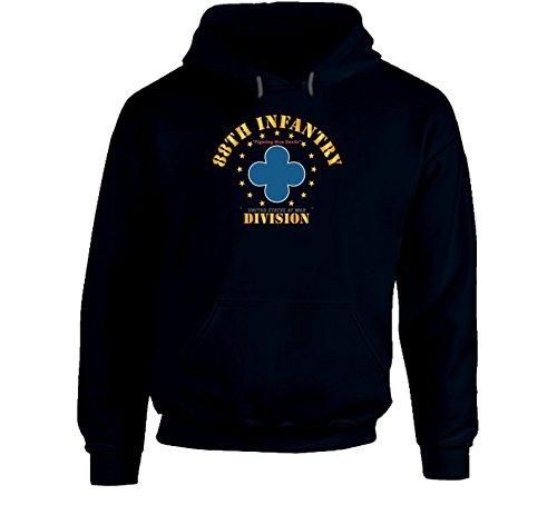 MEDIUM - 88th Infantry Division - Fighting Blue Devils Hoodie - Navy