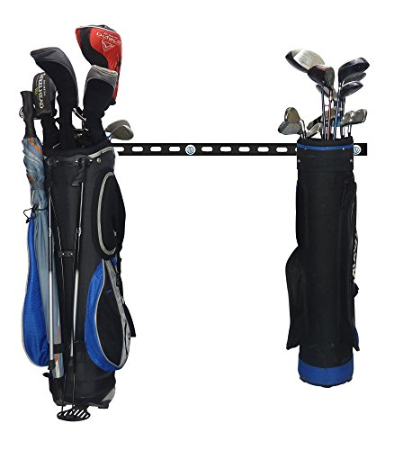 GearHooks Golf Trolley and Bag Storage For Easy Cart Travel Space Saving Clubs Holder For Women Men Easy Fit To Keep…