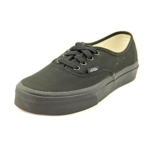 Vans Classic Authentic Lo Pro Black Black Womens Trainers Sneakers (6.5 B(M) US, Black/Black)