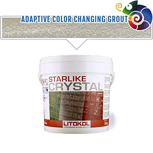 Litokol Crystal Glass Grout C.350 (Translucent)