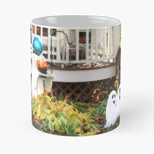 Porch Halloween Fall Autumn -funny Present For My Greatest Boss Male Or Female, Men, Women, Great Office Gift Mugs, Birthday, Leaving, Bold, Cup, 11 Oz