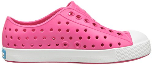 Native Jefferson Slip-On Sneaker Hollywood Pink / Shell Weiß