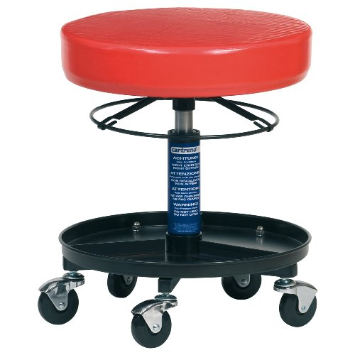 Werkstatthocker  Cartrend Workshop Garage Stool with Wheels: Amazon.co.uk: Car ...