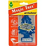Brand New Car Scent Smell Aroma - Carded Magic Tree In Car Air Freshener Pack X 1 .