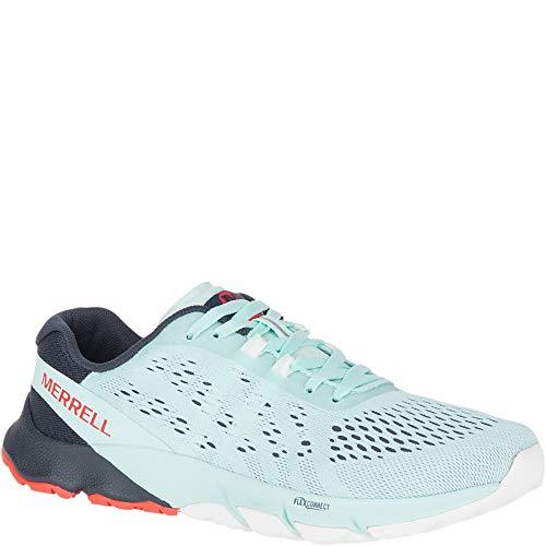 Merrell Bare Access Flex 2 E-Mesh Women 8 Bleached Aqua - Merrell Cross Training Shoes