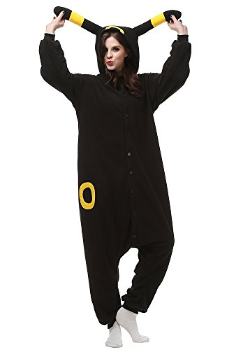 Laidisi Novelty Costumes Pyjamas Unisex Adult One-Pieces Cosplay Jumpsuit Yellow Umbreon (Giraffe Suit)