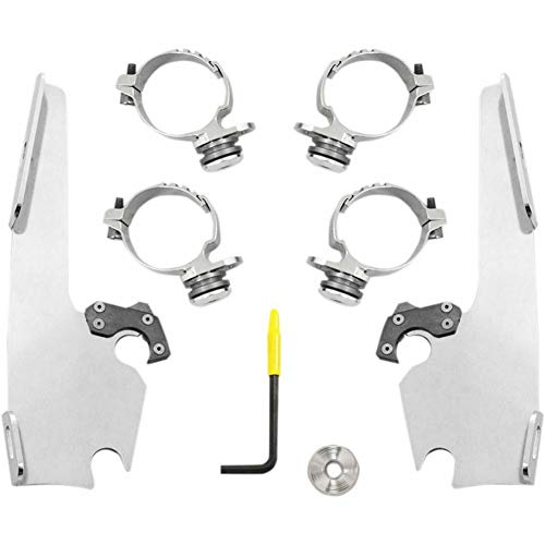 - Memphis Shades MEK2016 Trigger-Lock Mount Kit for Batwing Fairing - Polished