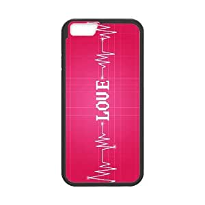 "ALICASE Diy Hard Cover Case Of Love Pink for iPhone 6 (4.7"") [Pattern-1]"