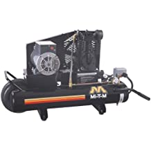 Mi-T-M AM1-PE02-08M Portable Air Compressor, 8-Gallon, Single Stage