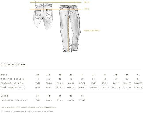 MAC Herren Jeans Hose Ben (Nachf. Model Brad) Art 0799L038000 , Größe:W33L34;Color MAC Herren:H108 stonewash dark
