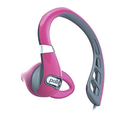 Polk Audio UltraFit 500 Mid-Flange In-ear Earphones (Pink/Gray)