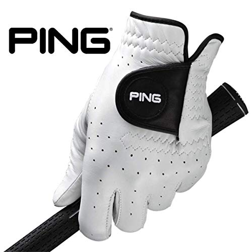 (New 2019 PING Tour Men's Glove with Solite Premium Cabretta Leather with Micro-Pur Technology (Worn on LH -)