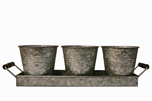 H & K Designs - Silverware Picnic Caddy - Farmhouse Decor, G