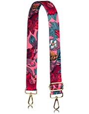 Allzedream Flower Purse Straps Replacement Crossbody Shoulder Bags Wide Adjustable