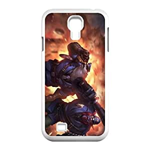 Samsung Galaxy S4 9500 Phone Case Cover White League of Legends Captain Volibear EUA16000371 Phone Case For Guys Unique