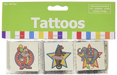 Fun Express Under The Big Top Kid's Temporary Tattoos (6 dz)