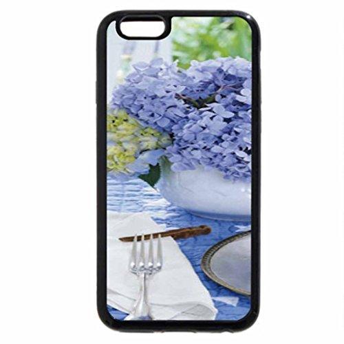 iPhone 6S / iPhone 6 Case (Black) Hydrangea Tablescape