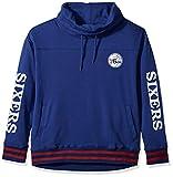 UNK NBA Women's Fleece Hoodie Pullover Sweatshirt Funnel Neck, Team Color