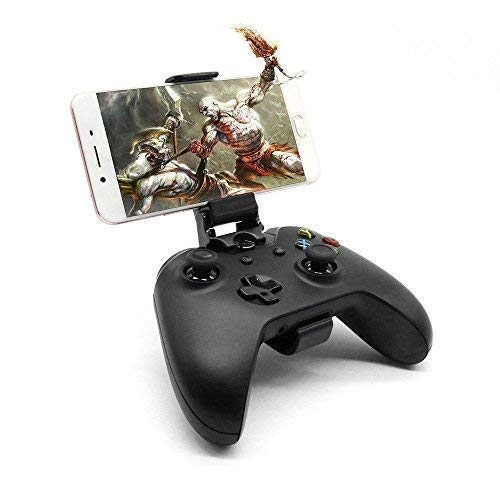 Cell Phone Holder - Smartphone Clamp - Game Clip For Microsoft Xbox One / One S / One X / Nimbus Controller with Stand