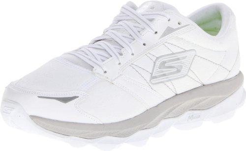 Skechers Go Ultra - entrenamiento/correr de sintético mujer blanco - White (White/Silver)