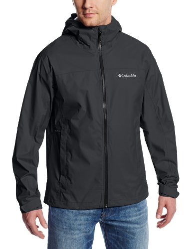 Columbia Men's Evapouration Jacket, Black, XX-Large