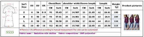 Bleu Longues Shirts et Casual Shirt Tee Top V Haut Col Automne Fashion Irregulier Femme Chemisiers Printemps JackenLOVE Blouse Manches T z5wHZqU