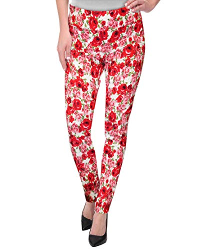 Super Comfy Stretch Pull On Millenium Pants KP44972X 10989 RED/Black -