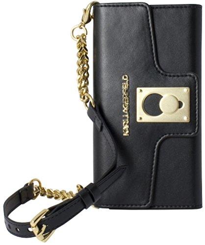 Karl Lagerfeld Affaire K-PIN  Etui à clapet pour iPhone 6/6S Noir