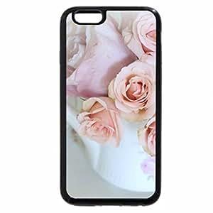 iPhone 6S / iPhone 6 Case (Black) Spring Tea Time