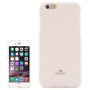 Jelly Shimmering Powder TPU Case Cover Funda Para iPhone 6 () Blanco