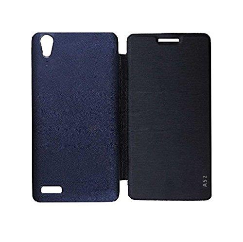 best cheap ef332 49443 YuniKase Lava A52 Premium Synthetic Flip cover: Amazon.in: Electronics