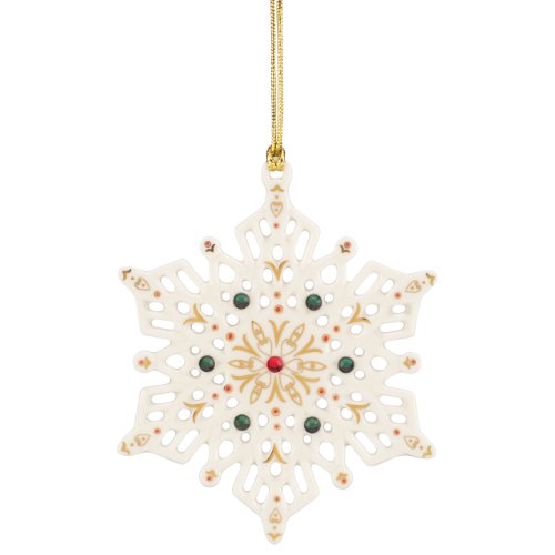 Lenox China Jewels Snowflake -
