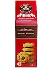 MARY MACLEOD'S SHORTBREAD Peaked Box of Chocolate Crunch Shortbread Cookies, 120 Grams