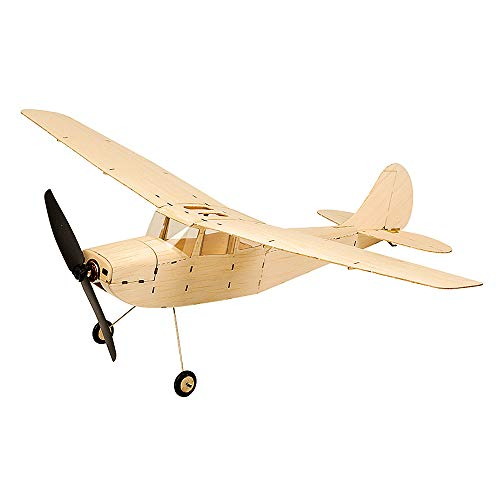 Goolsky DW Hobby K1201 Mini Cessna L-19 Balsa Wood 445mm Wingspan Biplane RC Aircraft Toy KIT Airplane for DIY