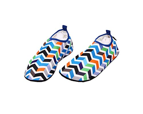 Yoga Ake Unisex Outdoor Skin Beach Cloth Water Swim Shoes Shoes Soft Wading Barefoot Aqua Elastic Sport Blue Socks for xwrZxBqRPn