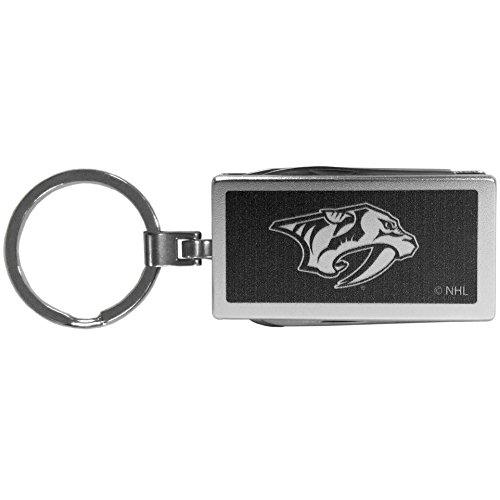 NHL Nashville Predators Multi-Tool Key Chain, Black